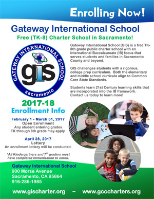 GIS enrollment flyer 2017